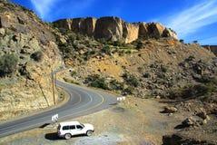 Oman wycieczka samochodowa obraz royalty free