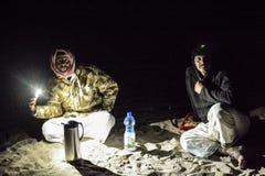 Omani Bedouins Stock Image