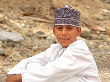 Omani Boy Royalty Free Stock Image