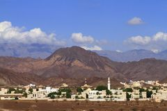 Omani city Stock Photo