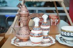 Omani coffee set Stock Photos