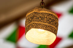 Omani lamp cap Royalty Free Stock Image