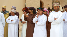 Omani Men Royalty Free Stock Image