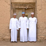 Omani Men Stock Photo