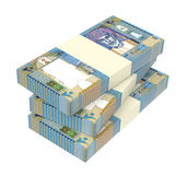 Omani rials bills isolated on white background. Royalty Free Stock Images