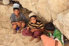 Omani Tienerjaren Royalty-vrije Stock Foto's