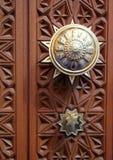 Omani Uroczysty Meczetowy Drzwiowy szczegół Obraz Stock