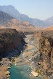 Omani Wadi Stock Images