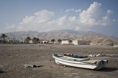 The Omanite Beach Stock Image