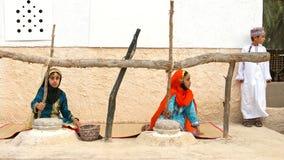 Omanska barn Fotografering för Bildbyråer