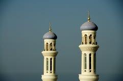 Omanska minarets Royaltyfri Bild