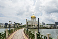 Omar Ali Saifuddien Mosque, Brunei Royalty Free Stock Photo