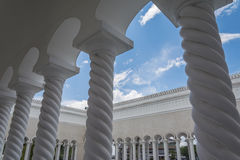 Omar Ali Saifuddien Mosque, Brunei Stock Photo