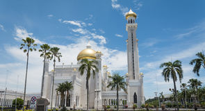 Omar Ali Saifuddien Mosque, Brunei Stock Photography