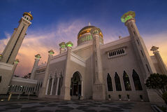 Omar Ali Saifuddin Mosque - Bandar Seri Begawan - Brunei Stock Fotografie