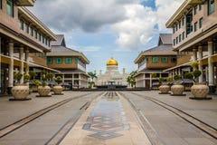 Omar Ali Saifudding Mosque-Bandar Seri Begawan stock fotografie