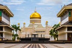 Omar Ali Saifudding Mosque-Bandar Seri Begawan stock foto's