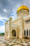Omar Ali Saifudding Mosque-Bandar Seri Begawan royalty-vrije stock afbeeldingen
