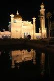 Omar Ali Saifudding Mosque-Bandar Seri Begawan royalty-vrije stock foto's