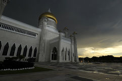 The Omar Ali Saifudien mosque Royalty Free Stock Photo