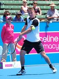 Omar Jasika of Melbourne at Kooyong Tennis Club Stock Photo