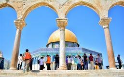 Omar moskee stock afbeelding