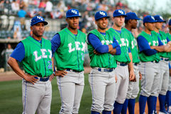 Omar Ramirez, manager Lexington Legends Stock Afbeeldingen
