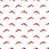Omar Seamless Pattern rouge Images libres de droits