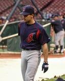 Omar Vizquel, Cleveland Indians. Stock Photos