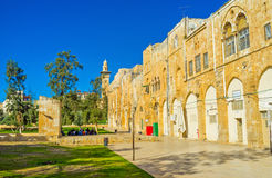 The Omariya school royalty free stock images