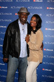 Omarosa Manigault-Stallworth, Michael Clarke Duncan Royalty Free Stock Photography