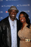 Omarosa Manigault-Stallworth, Michael Clarke Duncan Royalty Free Stock Photos