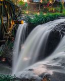 Omas waterfall Royalty Free Stock Image