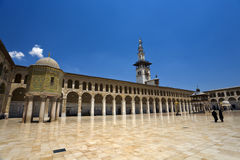Omayyad Mosque Royalty Free Stock Photos