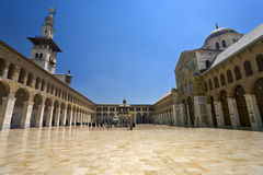 Omayyad Mosque. Syria. Damascus. Omayyad Mosque (Grand Mosque of Damascus Royalty Free Stock Image