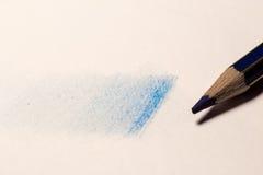 Ombra con la matita Fotografie Stock Libere da Diritti