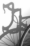 Ombra della bici Fotografie Stock Libere da Diritti