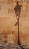 Ombra della luce di una lampada Fotografia Stock