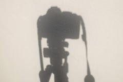 Ombra della macchina fotografica immagini stock libere da diritti