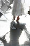 Ombra della sposa Fotografia Stock