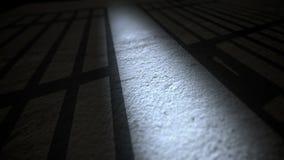 Ombra delle barre della prigione