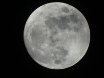 Ombra di luce della luna Fotografie Stock Libere da Diritti