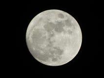 Ombra di luce della luna Fotografia Stock Libera da Diritti