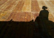 Ombra di una donna Fotografie Stock