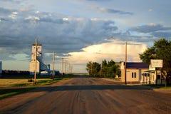 Ombra gettata sopra il sud-ovest Fotografie Stock
