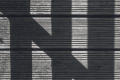 Ombra in pavimento di legno Fotografia Stock Libera da Diritti