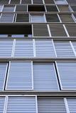 Ombrage de Windows, Barcelone, Espagne Photo stock