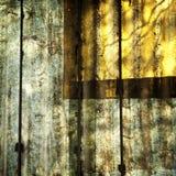 Ombrage l'abstraction sur le panneau de polycarbonate Photo libre de droits