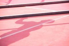 Ombre d'athlète Photo libre de droits