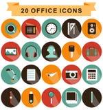 Ombre d'icônes de bureau Photographie stock libre de droits
